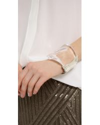 Alexis Bittar - Metallic Antibes Textured Wave Bracelet - Lyst