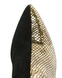 ASOS - Black Won Hundred Mercury Gold Ankle Boots - Lyst