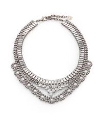 DANNIJO | Metallic Swarovski Crystal Necklace | Lyst