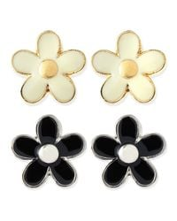 Marc By Marc Jacobs | Natural Daisy Stud Earrings | Lyst