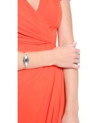 Pamela Love | Metallic Shield Cuff Bracelet | Lyst