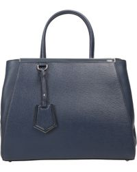 Fendi - Blue Small 2jours Tote - Lyst