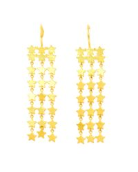 Marie-hélène De Taillac - Yellow Gold Star Earrings - Lyst