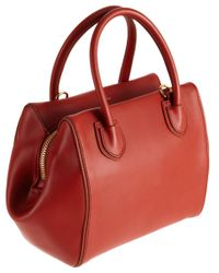Mark Cross - Red Mini Madison Satchel - Lyst