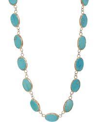 Sandra Dini | Metallic Turquoise Riviere | Lyst