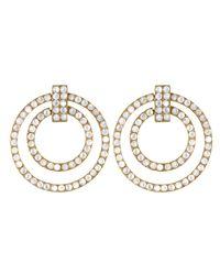Asha | White Arabella Earrings Mother Of Pearl | Lyst