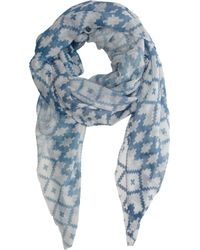 Athena Procopiou - Blue The North Berber Tribe Scarf - Lyst
