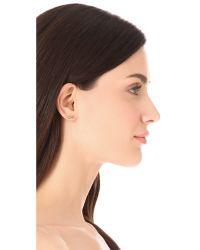 Bing Bang | Metallic Evil Eye Stud Earrings | Lyst