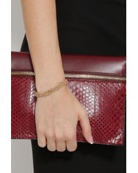 Carolina Bucci - Metallic Plaited Braided Gold Bracelet - Lyst