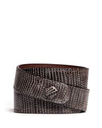 Givenchy | Brown Obsedia Triple Wrap Bracelet | Lyst