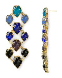 Kendra Scott | Metallic Clara Earrings | Lyst