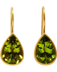 Marie-hélène De Taillac | Green Peridot Hard Candy Earrings | Lyst