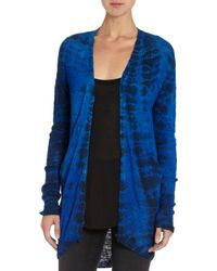 Raif Adelberg - Blue Oversized Buttonup Cardigan - Lyst