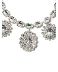 Dolce & Gabbana | Metallic Swarovski Crystal Necklace | Lyst