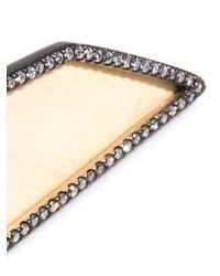 Monique Péan - Metallic Diamond Fossilised Mammoth Gold Ring - Lyst