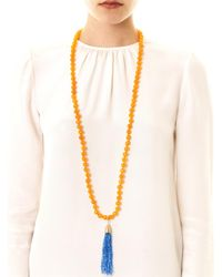 Rosantica - Orange Himalaya Agate Necklace - Lyst