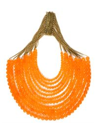 Rosantica | Orange Raissa Agate Necklace | Lyst