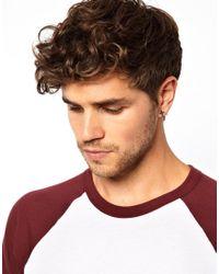 ASOS - Black Earring Pack with Cross and Plug Earrings - Lyst