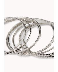 Forever 21 - Metallic Favorite Bangle Set - Lyst