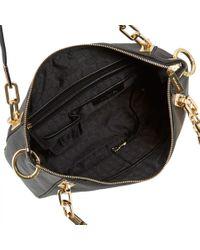 Michael Kors | Black Brooke Leather Shoulder Bag | Lyst