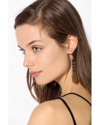 Urban Outfitters - Black Fiona Paxton Deni Drop Earring - Lyst
