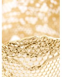 Aurelie Bidermann - Metallic Gold-Plated Vintage Lace Cuff - Lyst