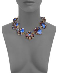 Erickson Beamon | Blue Girls On Film Swarovski Crystal Necklace for Men | Lyst