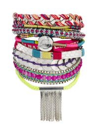 Hipanema | Pink Kingdom Bracelet | Lyst