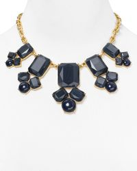Kate Spade | Blue Swirl Around Graduated Necklace 16 | Lyst