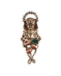 ASOS - Metallic Pharaoh Worship Ring - Lyst