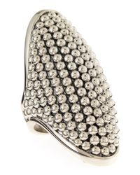 Lagos | Metallic Domed Caviar Ring Size 7 | Lyst