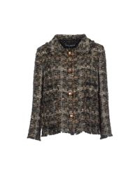Dolce & Gabbana - Brown Blazer - Lyst
