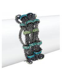 ABS By Allen Schwartz - Multicolor Multistrand Chain Bracelet - Lyst