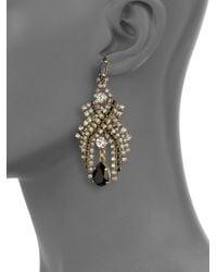Aerin Erickson Beamon - Multicolor Swarovski Crystal Chandelier Earrings - Lyst