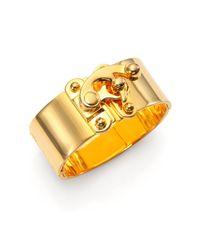 Eddie Borgo | Metallic Hooklatch Cuff Bracelet | Lyst