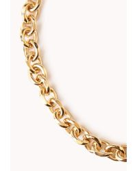 Forever 21 - Metallic Opulent Pastel Necklace - Lyst