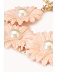 Forever 21 - White Darling Daisy Ceramic Bracelet - Lyst