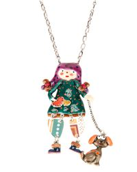 !item | Multicolor Doll Pendant Necklace | Lyst