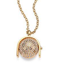 Kara Ross - Metallic Sphere Pendant Necklace - Lyst