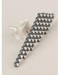 Maria Black - Gray Snow Earring - Lyst
