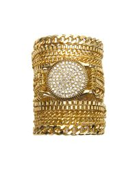 Piper Strand | Metallic Bling Wrap Watch | Lyst