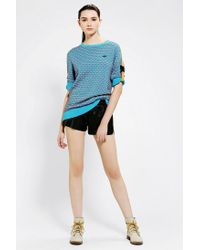 Urban Outfitters | Blue Adidas X Opening Ceremony Textured Strap Sleeve Sweater | Lyst