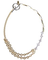 Wouters & Hendrix | Metallic Chain Link Necklace | Lyst