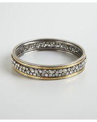Amrapali - Metallic Gold and Sliced Diamond Bangle - Lyst