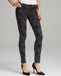Hudson Jeans | Gray Jeans Collin Skinny in Vintage Grey Camo | Lyst