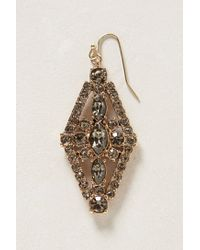 Anthropologie - Metallic Celesse Diamond Drops - Lyst