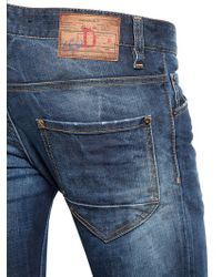 DSquared² | Blue Straight Leg Jean for Men | Lyst