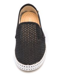 Rivieras - Black Classic Slip On Sneakers Noir - Lyst