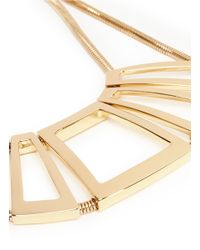St. John | Metallic Architectural Gold Snake Chain Necklace | Lyst
