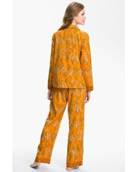Munki Munki | Orange Flannel Pajamas | Lyst